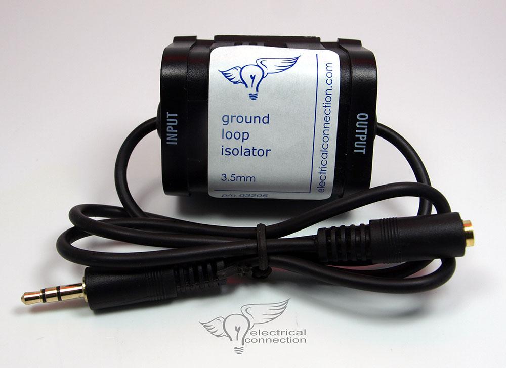 Universal Ground Loop Isolator - 3.5mm