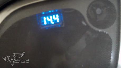 Honda GL1800 / F6B Digital Voltmeter 2006+