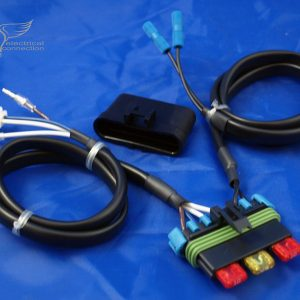 Kawasaki KLR 650 Fuse Relocation Harness to 2007
