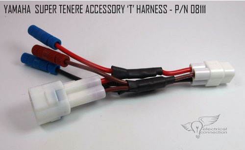 yamaha super tenere accessory connectors electrical connection rh electricalconnection com Honda Wiring Harness Connectors GM Wiring Harness Connectors