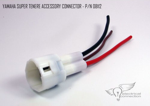 yamaha super tenere accessory connectors electrical connection rh electricalconnection com Auto Wire Harness Wire Harness Assembly