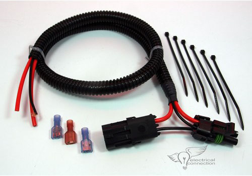 40003 polaris ranger rzr radiator fan bypass harness electrical connection 6 AWG Wire Connectors at pacquiaovsvargaslive.co