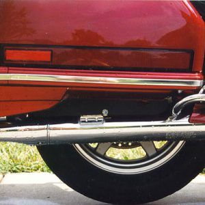 Honda GL1500 Saddlebag Frame Cover