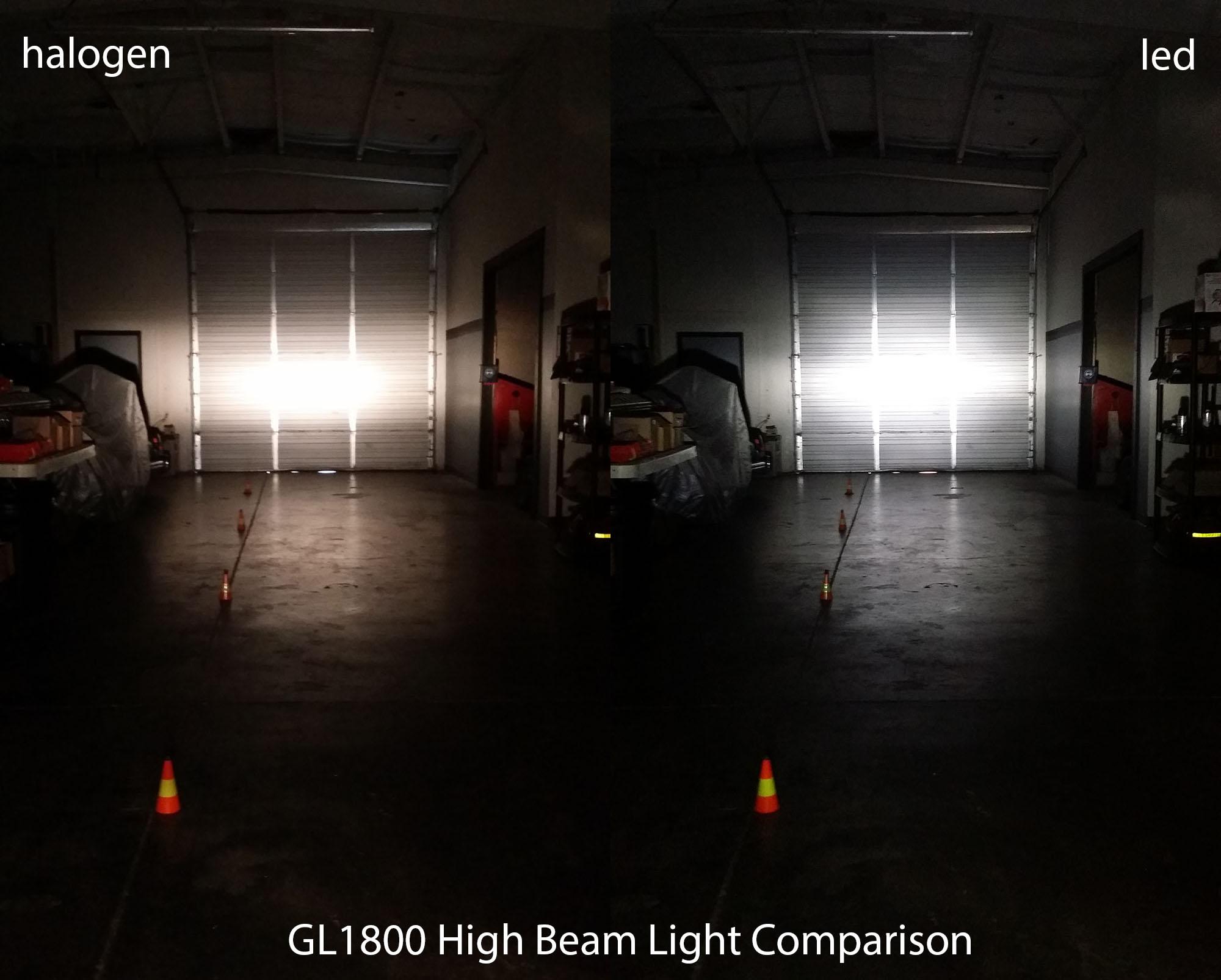 Led Headlight Bulb H7 Honda Type Gl1800 F6b