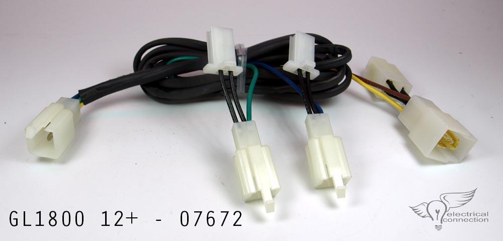Isolator, Honda GL1800 – Electrical Connection