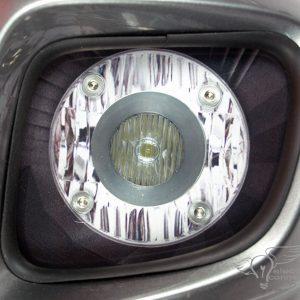 Honda GL1800 / F6B / Valkyrie Single Shooter Aux Light Kit
