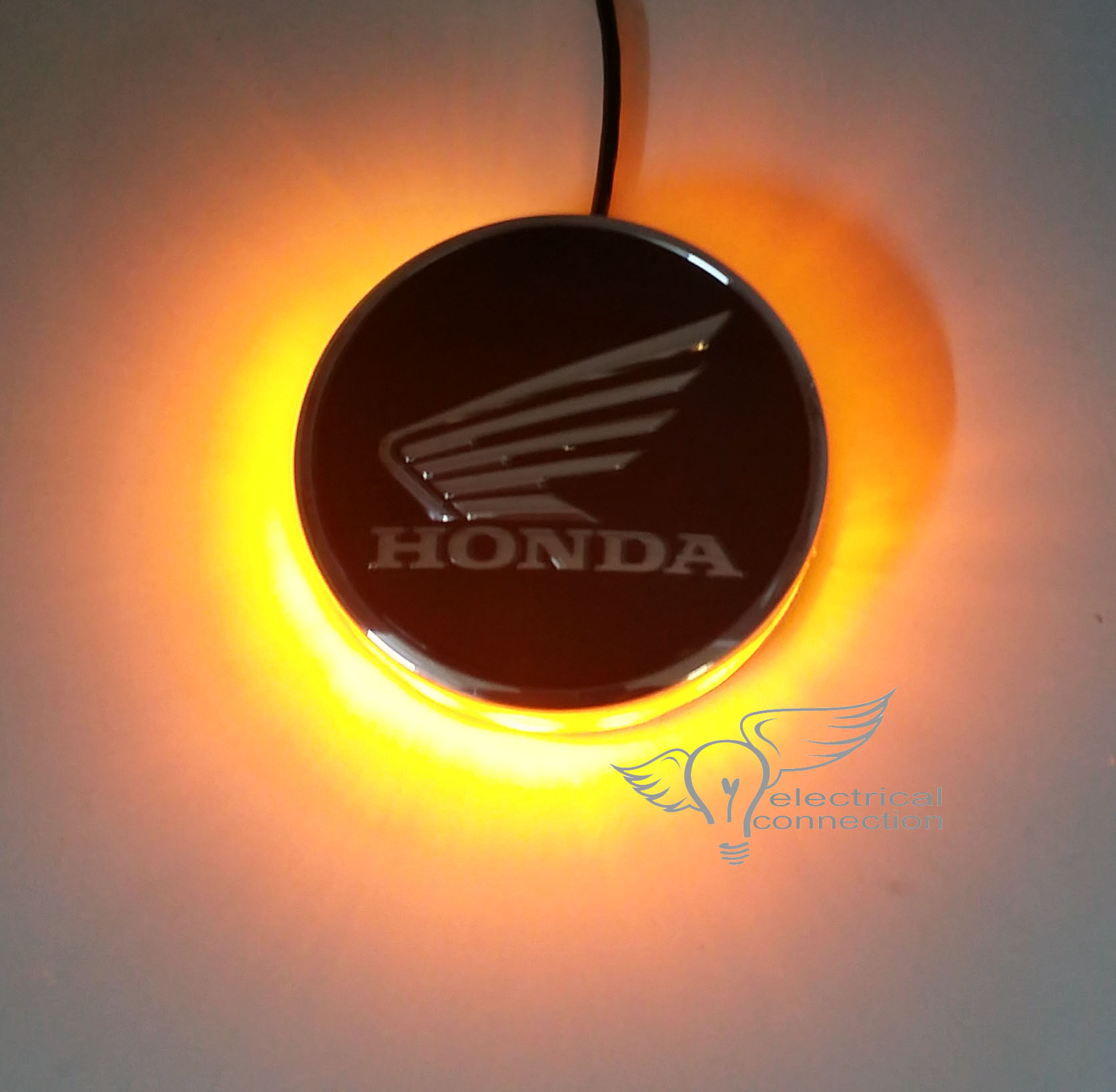 Honda Roundel Emblem Illumination Kit Electrical Connection