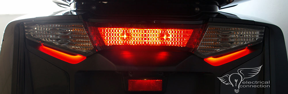 Honda GL1800 / F6B (12-17) Low Browz Tail Light Illumination – Electrical Connection