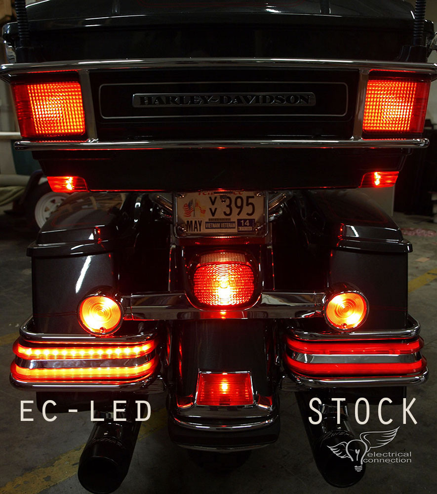 Harley Electra Glo Led Replacement Insert Kit Electrical Connection