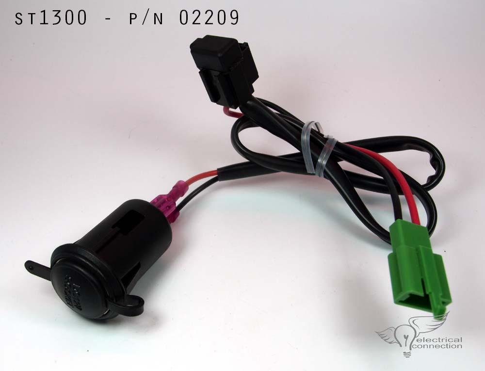 Honda St1300 Power Plug 12 Volt Accessory Port Socket: 12 Volt Electrical Wiring At Goccuoi.net