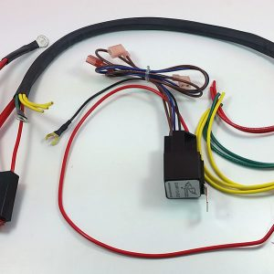 wire harness – Electrical Connection on speaker components, electronic circuit components, torque converter components, wire alligator clips electrical,