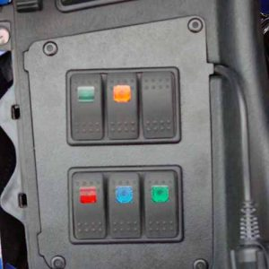 fairing switch panel – Electrical Connection