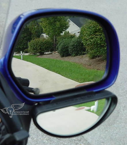 Blind Spot Mirror & Air Deflector