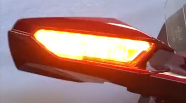 Honda Goldwing    Tour Front Switchback Drl Signal Kit